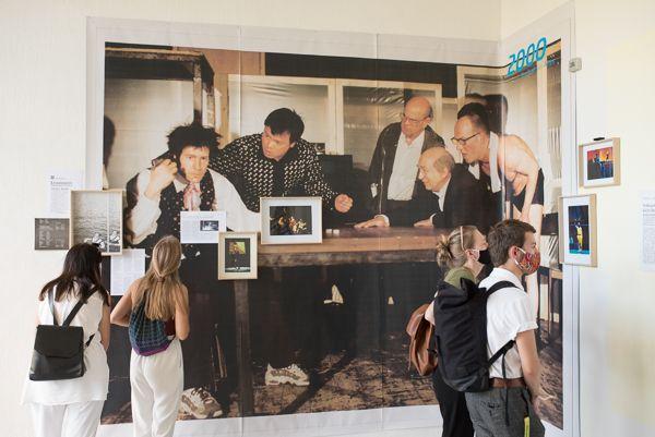 Exhibition opening Schlingensief